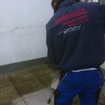 Terrassen und Gehwege sehen nach einer Reinigung nicht nur besser aus - auch die Gefahr, auf dem glitschigen Moos auszurutschen verschwindet.